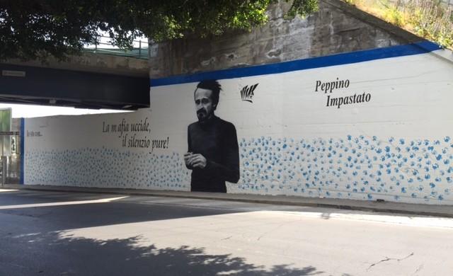 Decoro urbano realizzato alla circonvallazione il murale for Ufficio decoro urbano catania