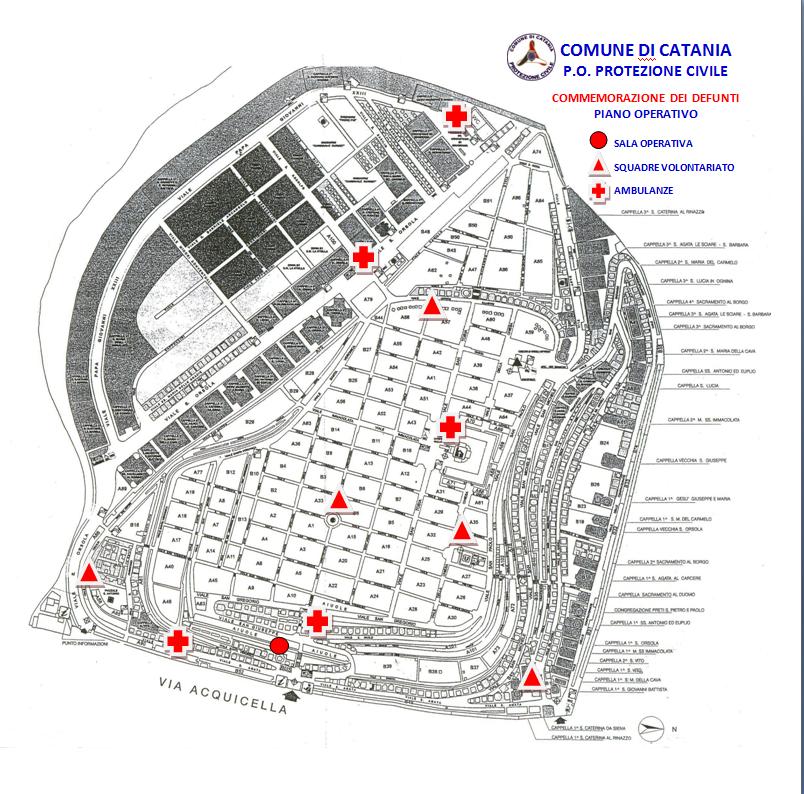 Risultati immagini per cimitero di catania